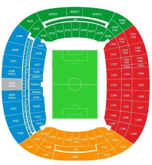 Стадион Фишт - билеты на футбол в Сочи