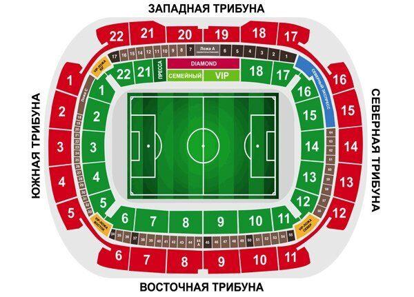 Продажа билетов на футбол футбольного клуба Локомотив