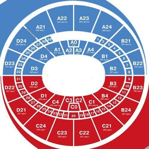 Билеты на Выступления сборной команды России по фигурному катанию 9 сентября 15:00 ДС «Мегаспорт» Москва