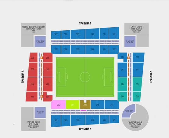 Билеты на футбол Россия - Турция 5 июня товарищеский матч на стадионе ВЭБ АРЕНА ЦСКА (Москва)