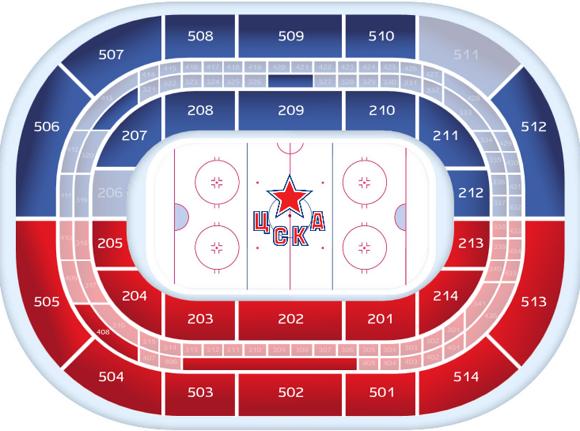 Билеты на хоккей: ХК ЦСКА Москва